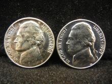 1961 & 1967 Jefferson Nickels
