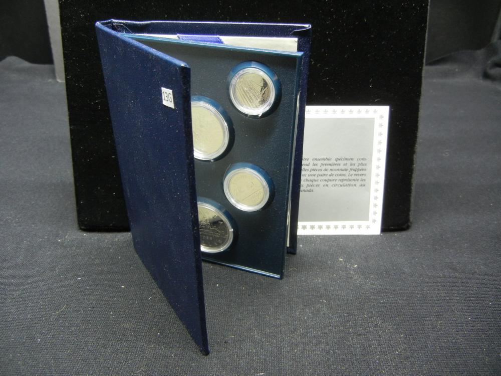 1986 Canada Specimen Set.  In Original Package.