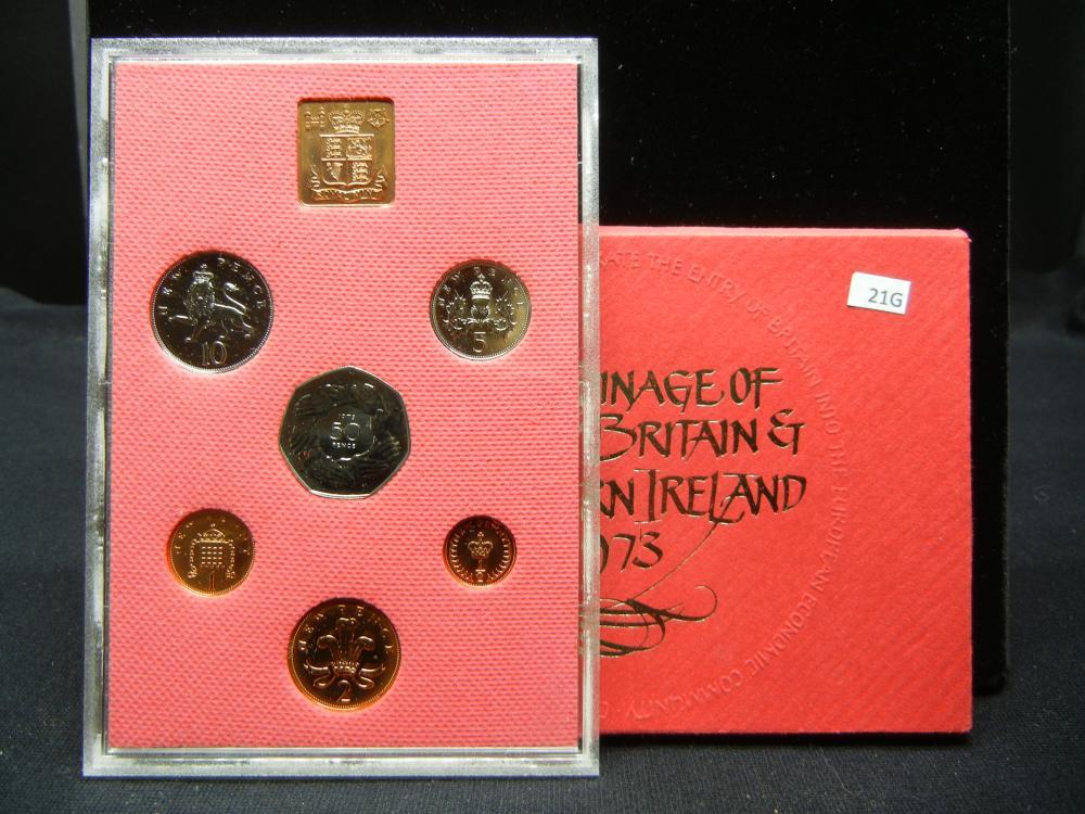 1973 Great Britain Proof Set.  In Original Packaging.