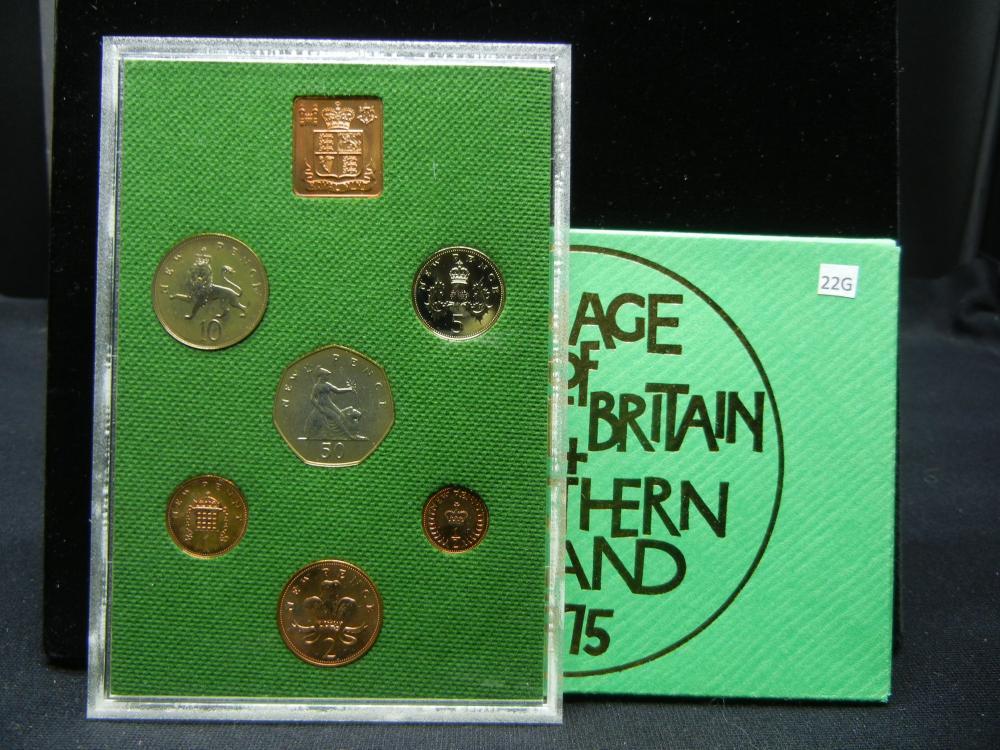 1975 Great Britain Proof Set.  In Original Packaging.