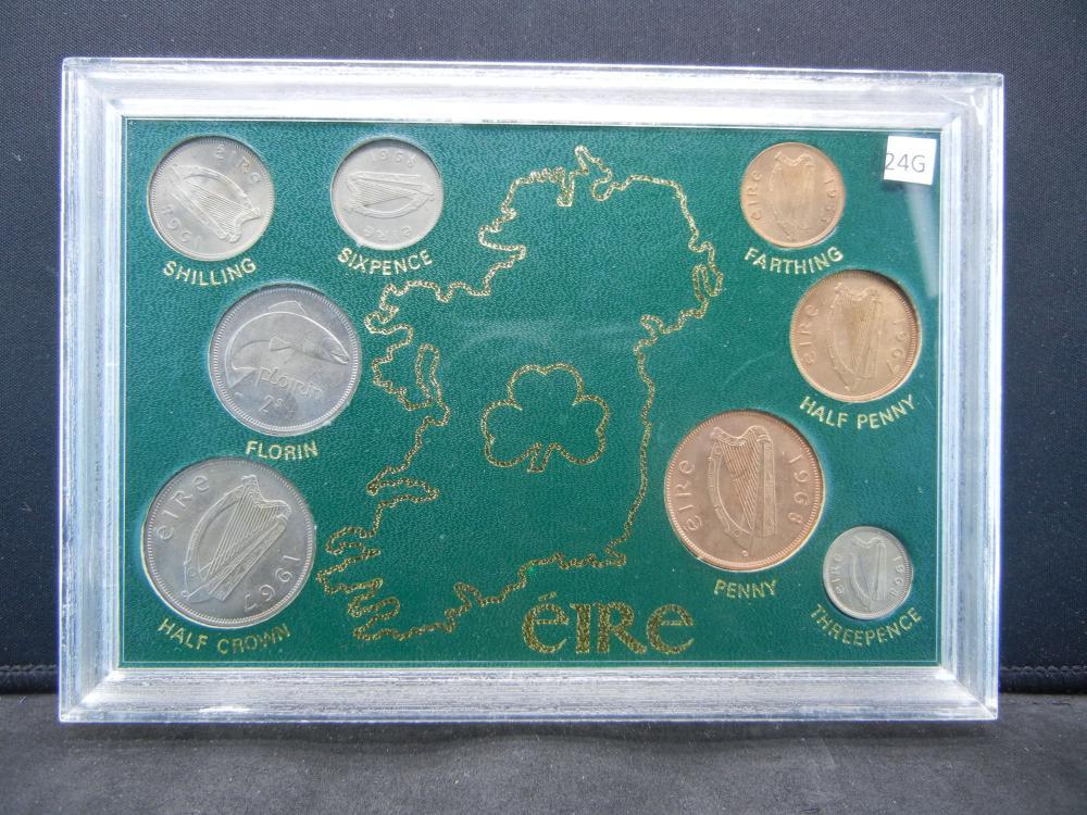 Ireland Unciruclated Type Set.