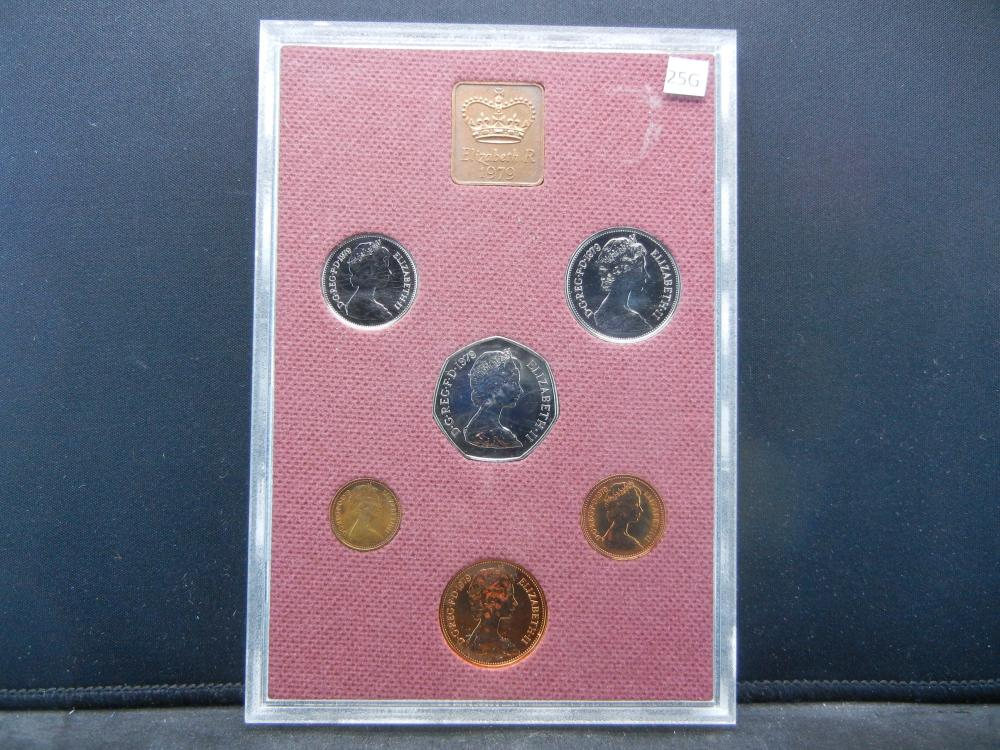 1979 Great Britain Proof Set.  In Box.