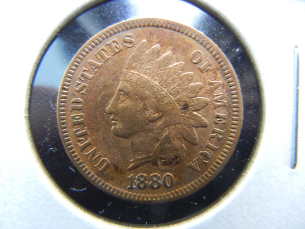 1880 Indian Cent.  High Grade.