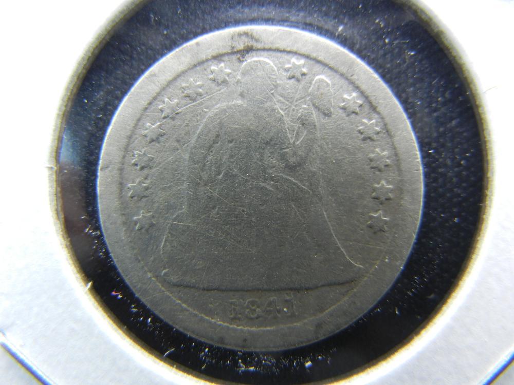 1841-O Seated Dime.  Good.