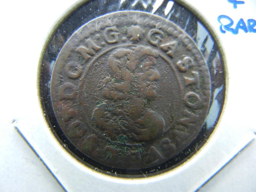 1643 France Double Tournois.  Nice & Rare!
