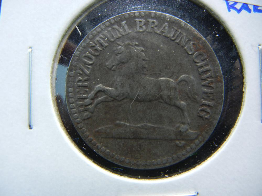 1918 Germany-Braunschweig 50 Pfennig Notgeld.  Rare.