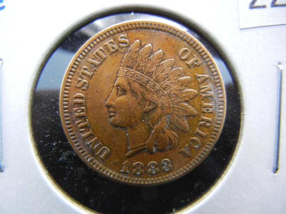 1883 Indian Head Cent .  High Grade.