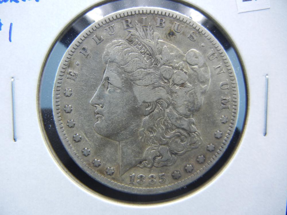 1885-S Morgan $1.  Better Date.