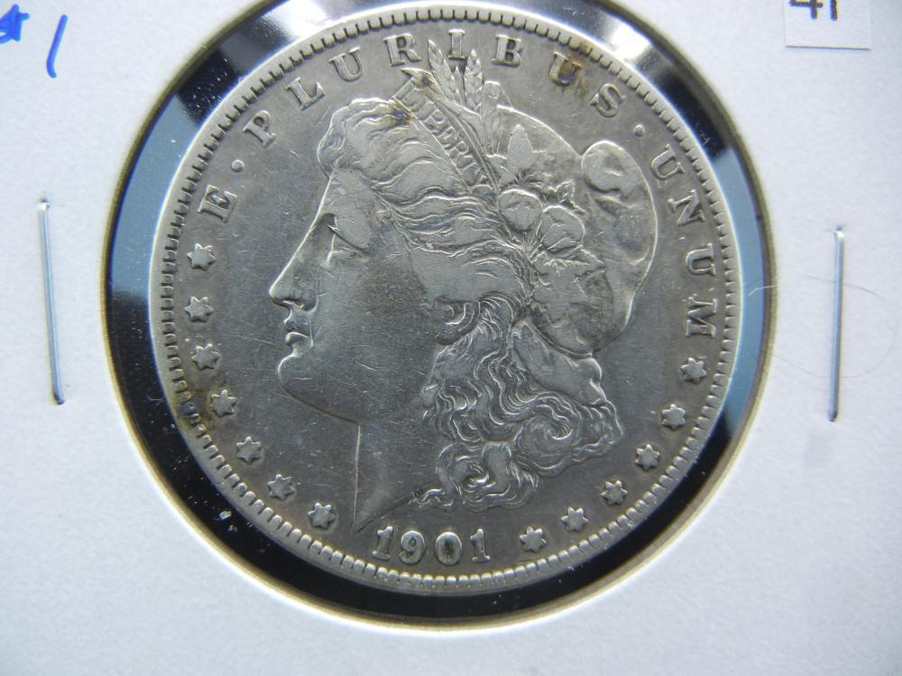 1901-S Morgan $1.  Scarce Date.