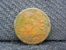 1870 Indian Head cent. Very Good detail. Much Better Date.