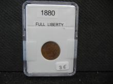1880 Indian Head Cent - Full Liberty