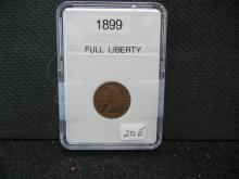 1899 Indian Head Cent - Full Liberty