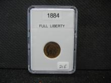 1884 Indian Head Cent - Full Liberty