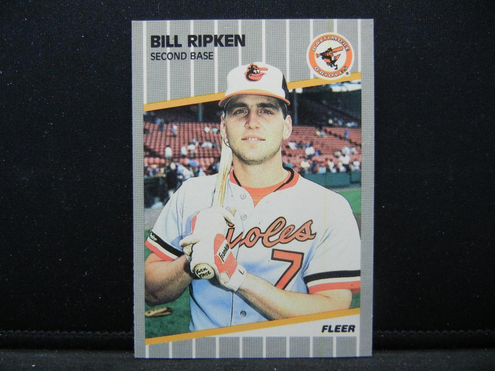 1989 Fleer 616 Bill Ripken Rock Face Card