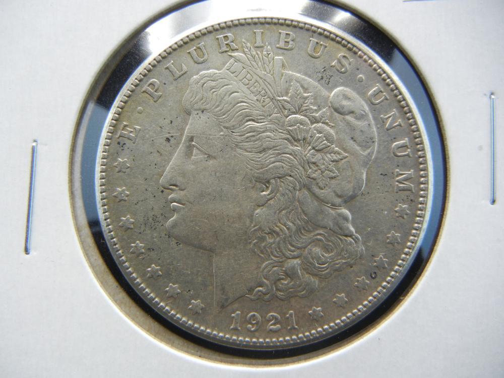 1921-S Morgan Dollar .