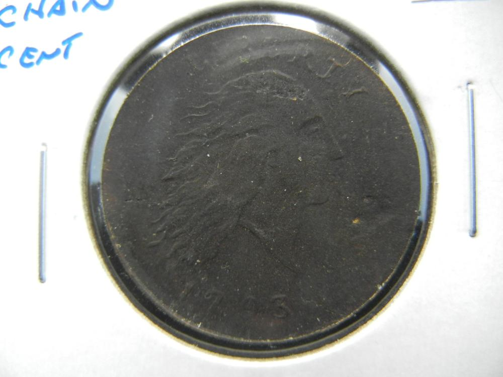 1793 Chain Cent.  Nice Replica.  Great Filler.