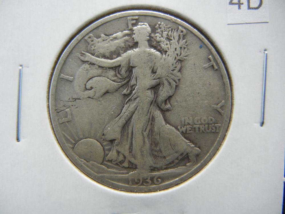 1936-D Walking Liberty Half Dollar