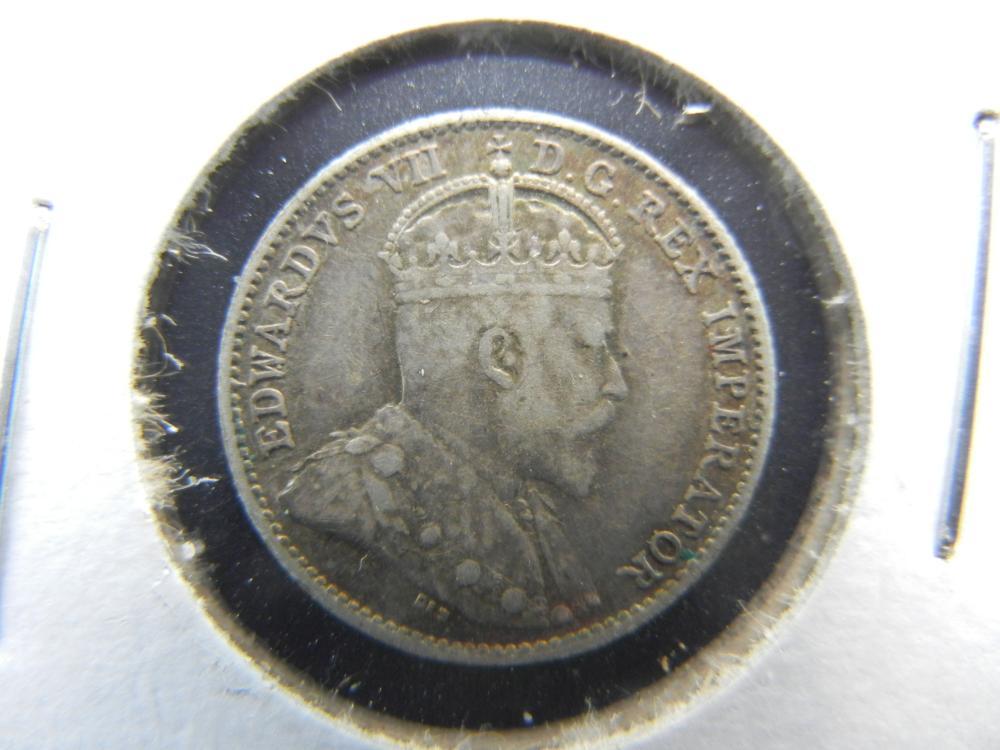 1910 Canada Nickel .  XF/AU.