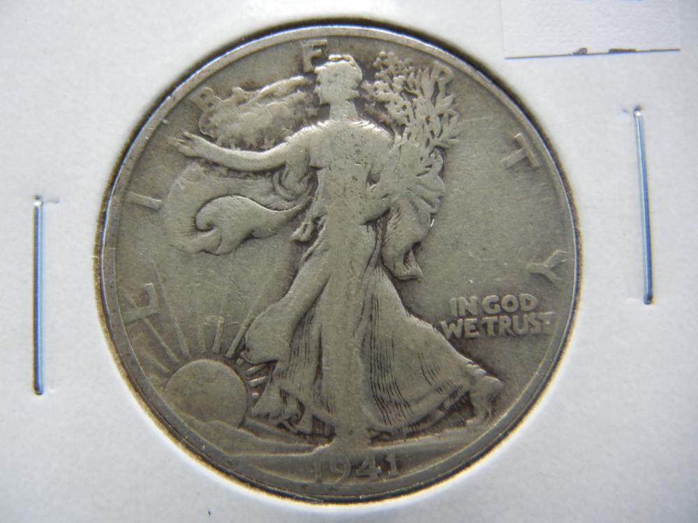 1941-S Half Dollar .
