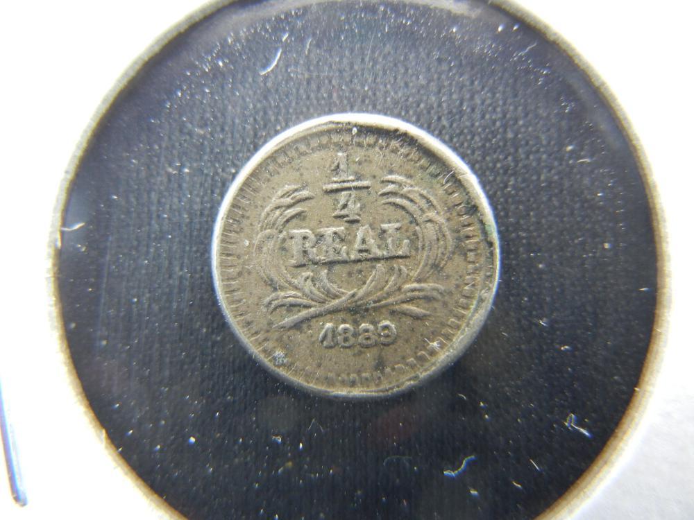 1889 Guatemala 1/4 Real.