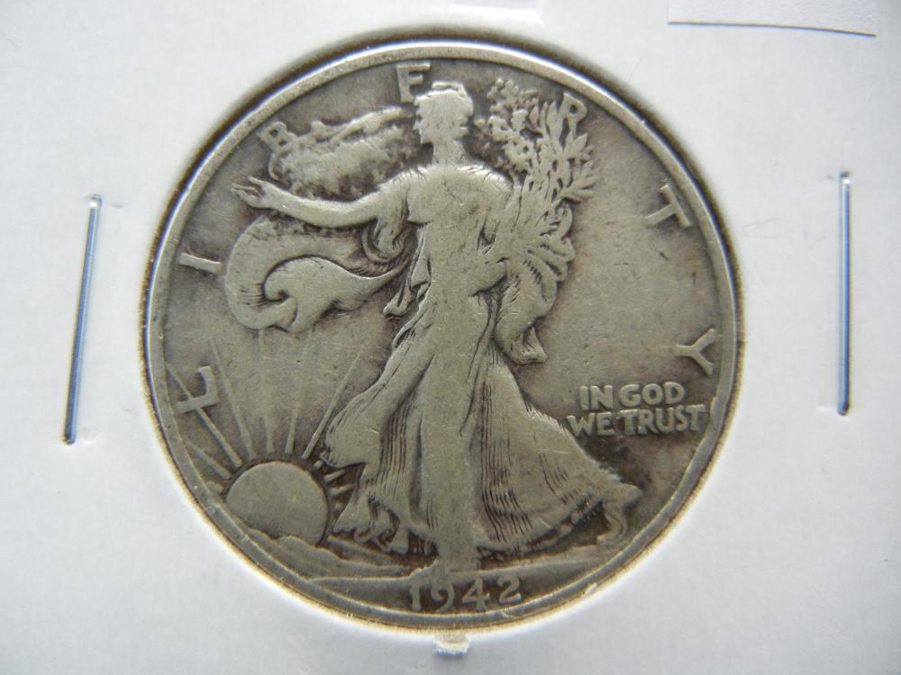1942-S Half Dollar .