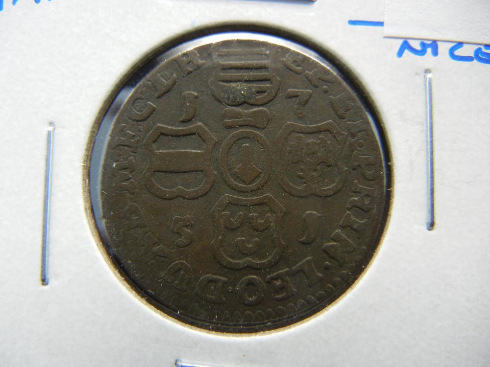 1751 Spain 2 Maravedis.  Nice.
