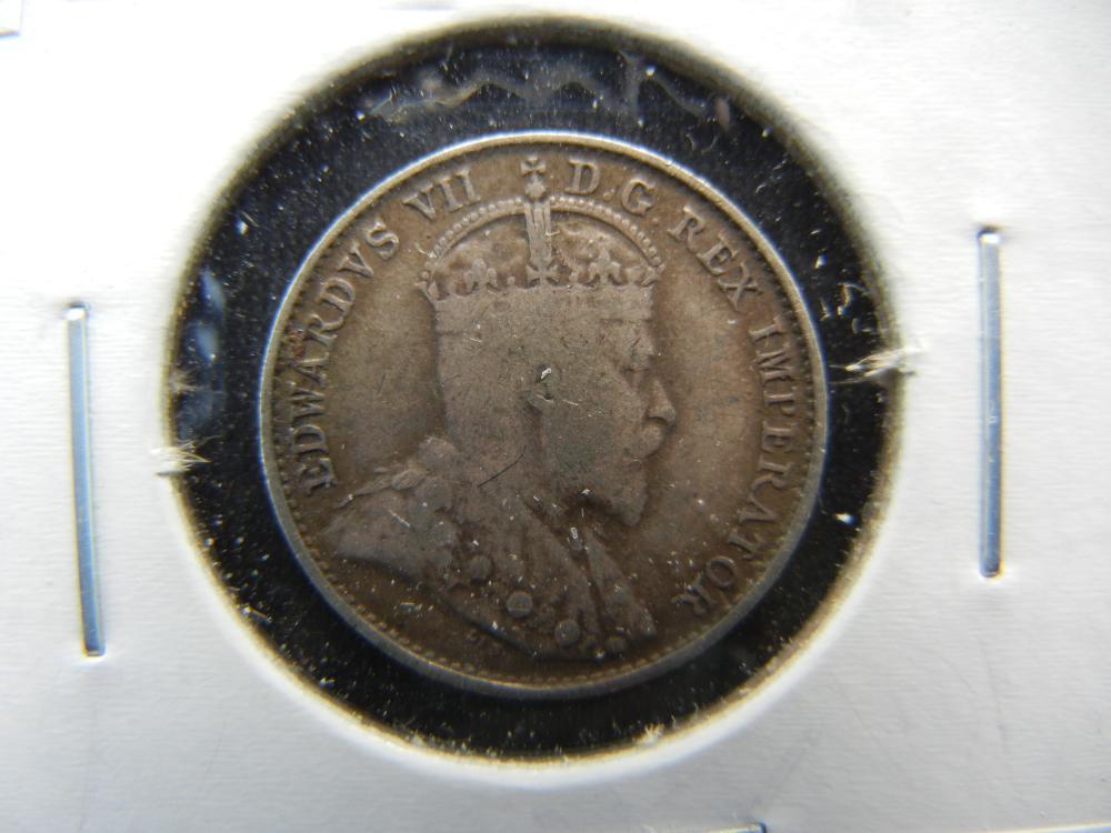 1905 Canada Nickel .  VF+.
