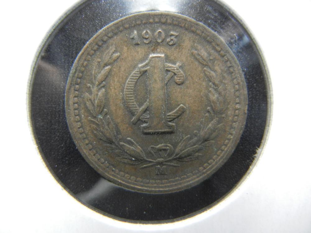 1903-MO Mexico 1 Centavo.  Nice.