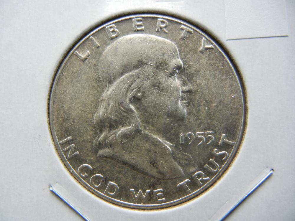 1955 Half Dollar .  UNC.