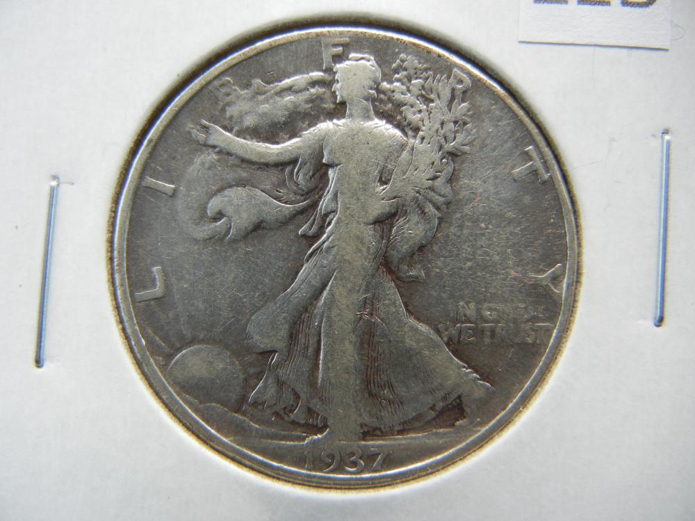 1937 Half Dollar .
