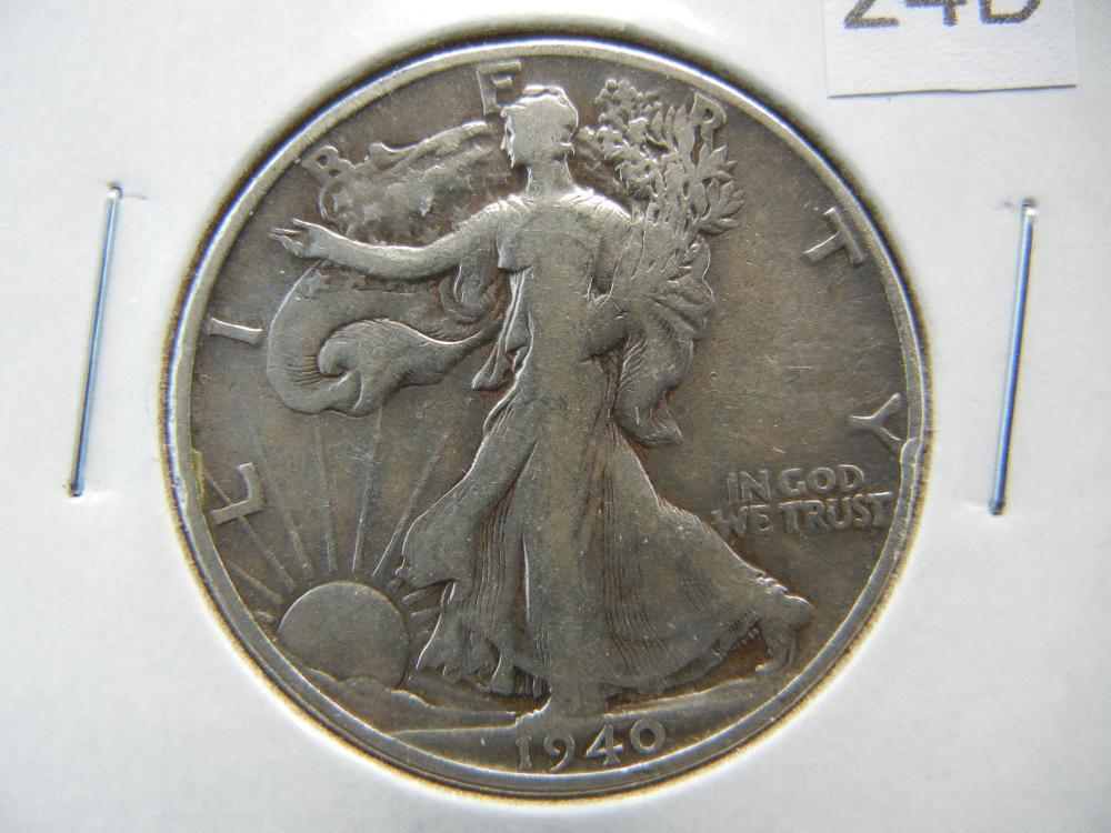 1940-S Half Dollar .