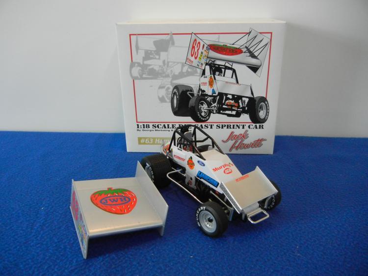 Sprint Car Jack : Scale jack hewitt hampshire racing sprint car gmp