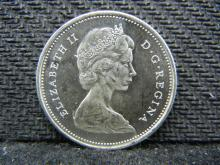 1968 UNC Canadian Quarter - 50% Silver