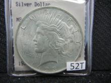 1923 Peace Dollar - Hannes Tulving Rare Coin Investments