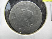 1913-D Silver Barber 25c, (ONLY 1.5 Mill Minted) 90% Silver!