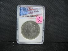 1890 Morgan Silver Dollar, MS65 USA, (Check Your Book On This Coin), ONLY 16.8 Mill Minted, Beautiful Coin, Rare At This Grade!