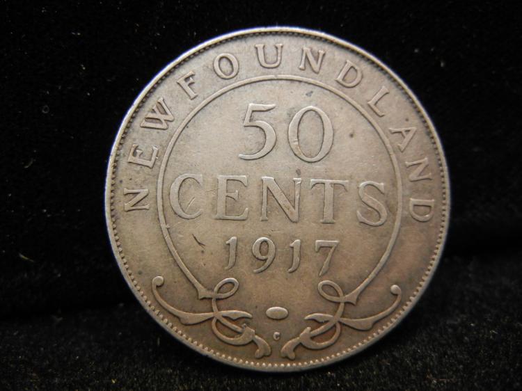 1917 C Newfoundland 50...