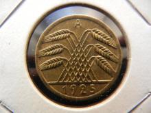 1925-A Bronze Deutsches Reich 5 PFG