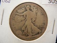 1917-D Walking Liberty Half Dollar Obverse Mint Mark