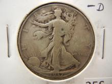 1937-D Walking Liberty Half Dollar