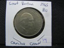 1965 Great Britain WINSTON CHURCHILL Crown. BU.