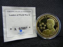 Dwight D. Eisenhower Gold Enhanced Medal