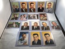 1953 Bowman NBC TV and Radio Stars Lot of 17 - Carl Reiner, Sid Caesar, Jack Barry - Varying Conditions