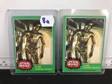 1977 Topps Star Wars C3PO #207 -