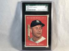1961 Topps Mickey Mantle MVP #475 SGC 50