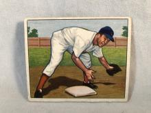 1950 Bowman Virgil Red Stallcup #116