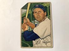 1952 Bowman Gil Hodges #80 - Poor Condition