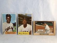 1954 & 1955 Bowman - Bob Boyd, Hank Thompson, Minnie Minoso