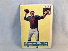 1956 Topps Football George Blanda #11