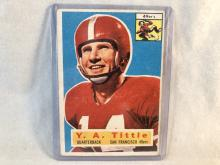 1956 Topps Y.A. Tittle #86